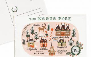 Tarjetas navideñas de fabricación sureña