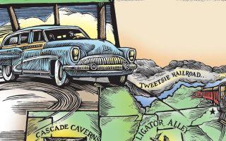 South's Best Bargain rodinné dobrodružství