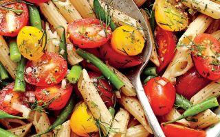 Пет 5-ингредиент Студени паста салати