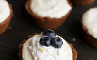 Bezlepkové miniaturní tvarohové koláče