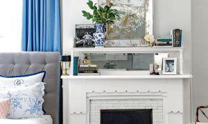 Красиви синьо спални