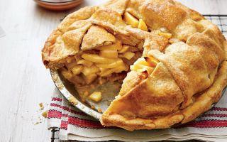 Как да разрушим ябълков пай